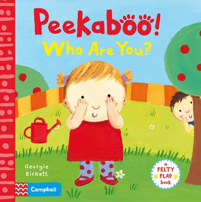 Book cover for Peekaboo, Who Are You?